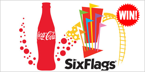 Log into your Coca-Cola account and play theSix Flags Holiday Instant Win Game daily for your chance to win Six Flags 2018 Season passes
