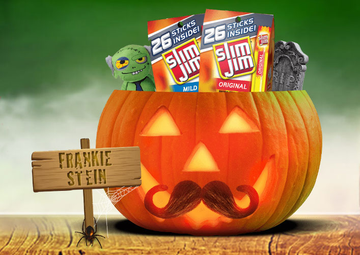 4 WINNERS! Enter the Slim Jim Hungry For Halloween Sweepstakes
