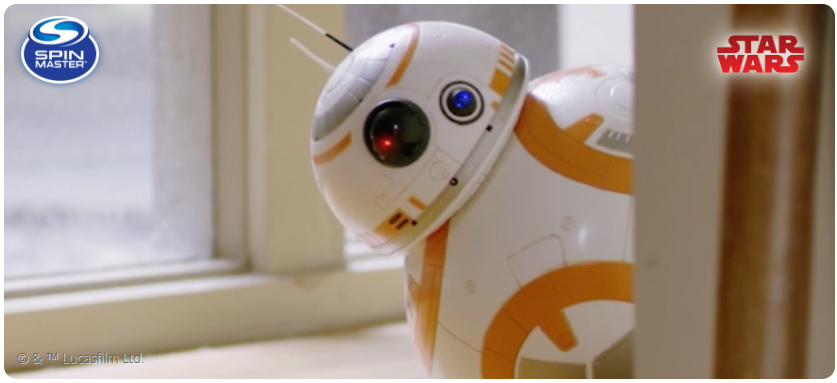 Dole isgiving you a chance to win an incredible voice activated, Star Wars remote-control Spinmaster BB-8