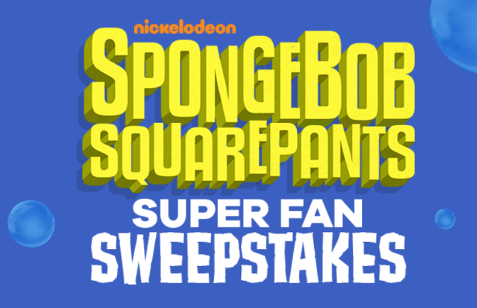 Enter to win a trip for four to NYC to seeSPONGEBOB SQUAREPANTS, THE BROADWAY MUSICAL