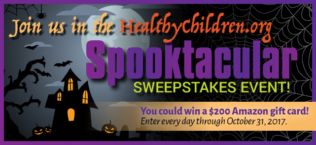 HealthyChildren.org is giving away a $200 Amazon gift card to nine (9) lucky winners.