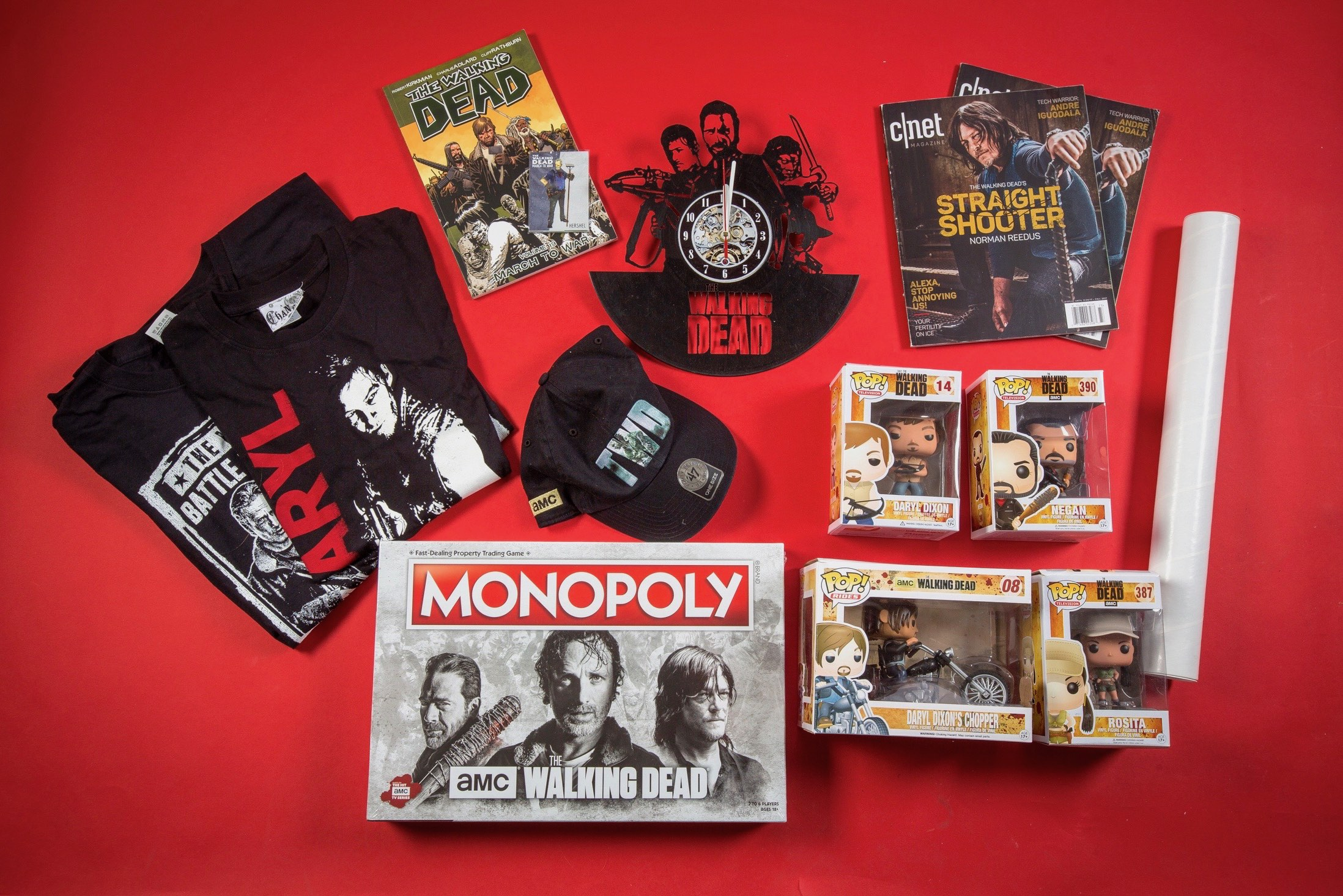 CNET is hosting The Walking Dead giveaway with awesome prizes for four lucky winners to take home.