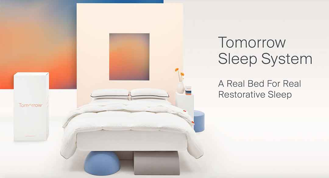 Enter for your chance to win aTomorrow Sleep System worth $1,200
