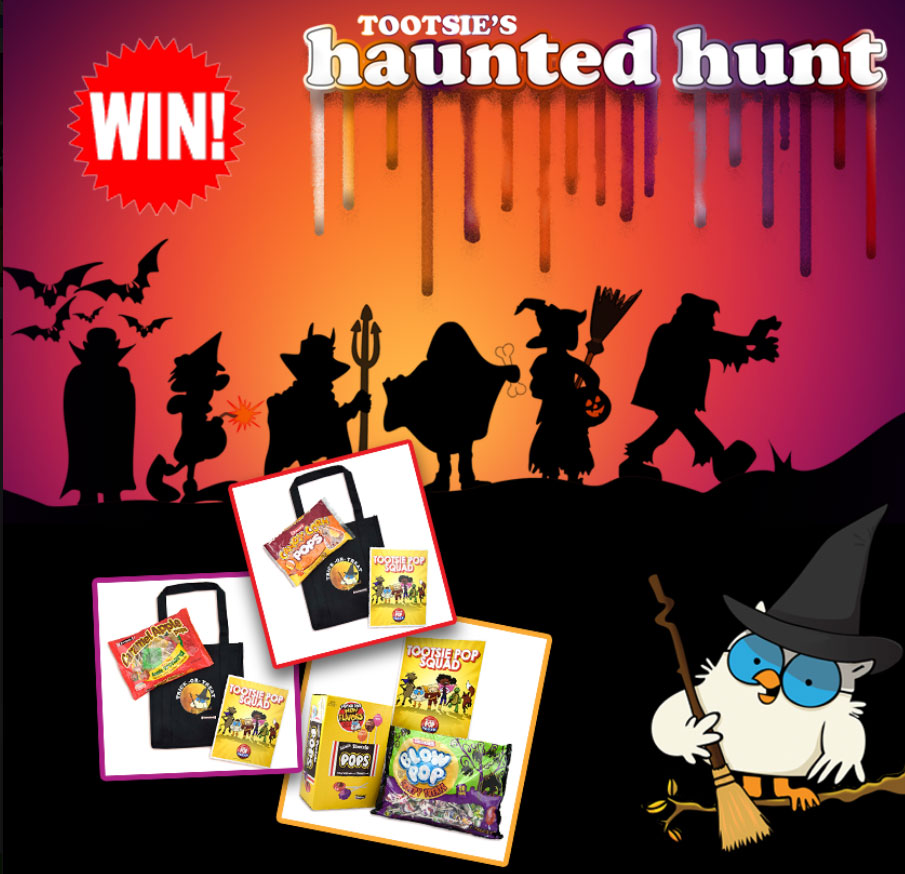 QUICK ENDING! Tootsie Roll Haunted House Instant Win Game (225 Prizes)