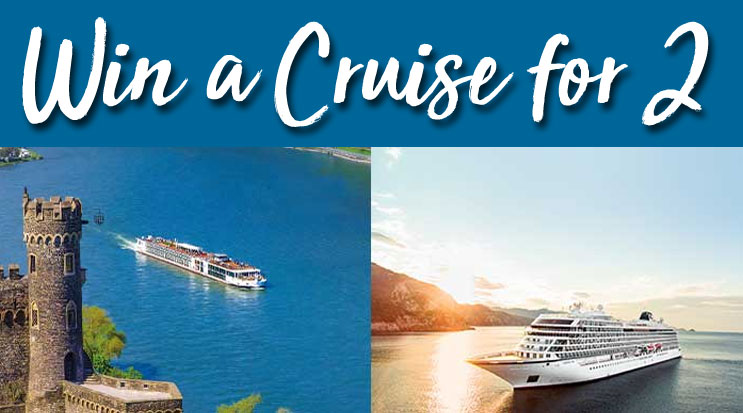 Enter to win a Viking River or Viking Ocean cruise for two!