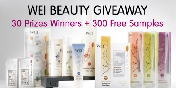 30 WINNERS + 300 SAMPLES Enter to win 1 of 30 sets from Wei Beauty products or 1 of 300 Bee Venom Anti-Wrinkle Cream Mask and Golden Root Purifying Mud Mask samples