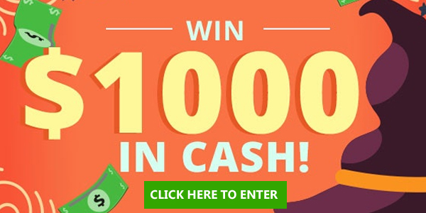 Enter for your chance to win $1,000 in cash during Woman's World October Sweepstakes.