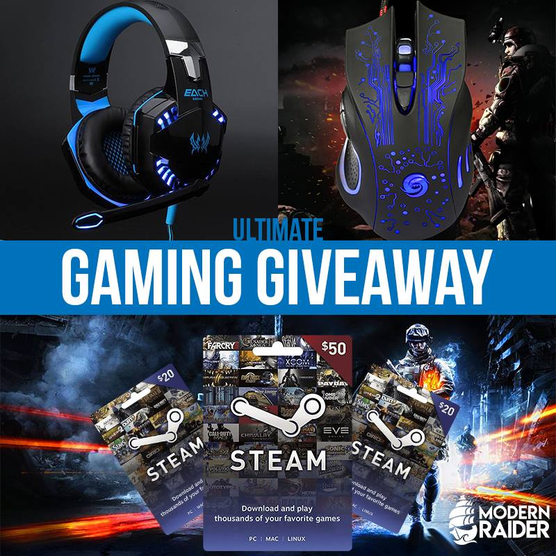 Enter theModern Raider's Ultimate Gamer Giveawayfor your chance to win the ultimate PC gaming bundle! There will be 3 lucky winners.