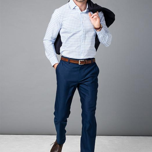 Enter for your chance to win aWardrobe Upgrade from Mizzen+Main valued at$375