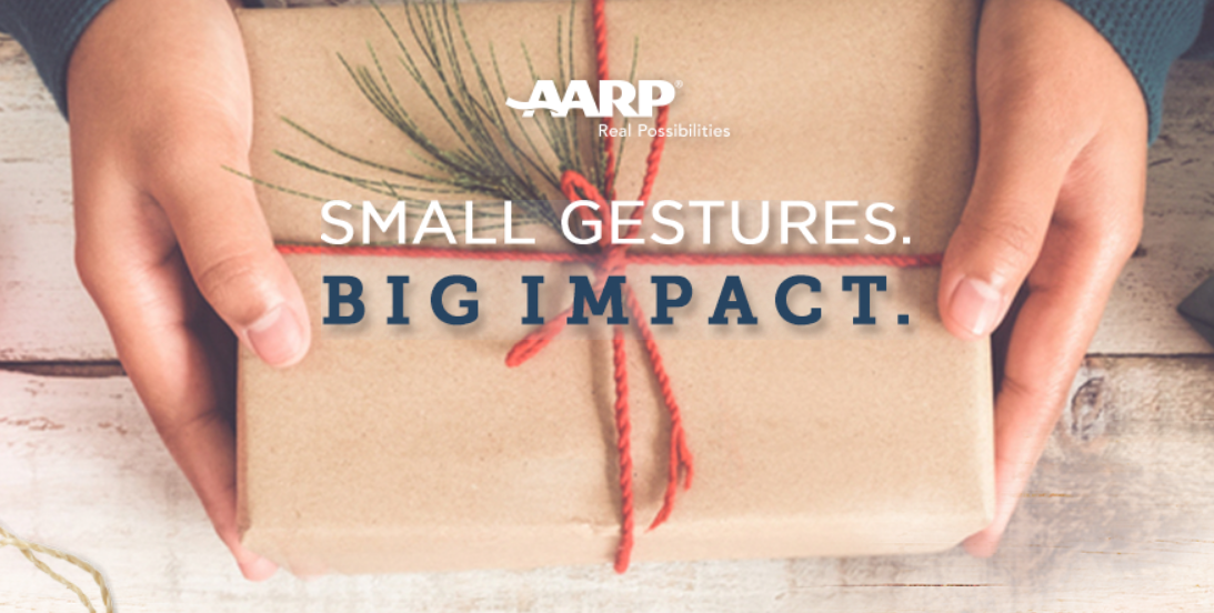 61 WINNERS! Open the Daily Gift from AARP andyou could win a $25 gift card!
