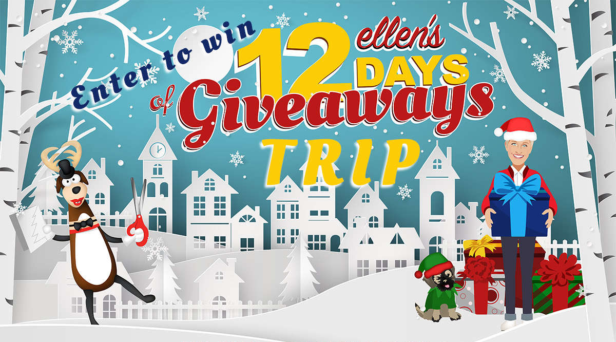 Ellen christmas giveaway 2019 day three