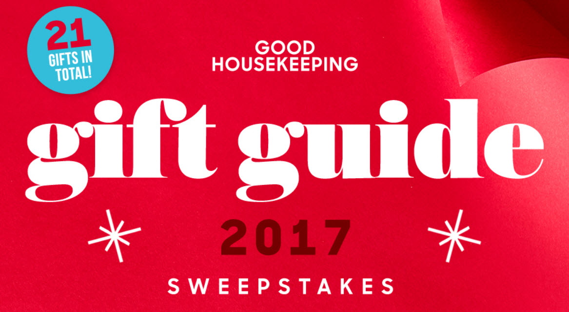 Ten lucky winners will receive everything in the Good Housekeeping Holiday Gift Guide