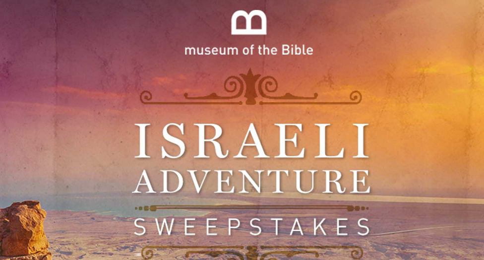 The Travel Channel is giving away a trip for two to Israel worth over $10,000
