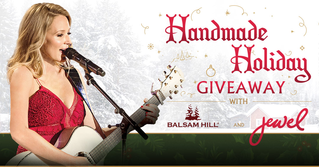 Balsam Hill Handmade Holiday Giveaway