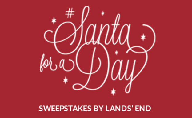 Who couldn't use a little extra cash for the holidays? Play Lands' End's Instant Win Game for a chance to win a $1,000 Lands' End Gift Card & a grand prize of $10,000 + a $5,000 charity donation.