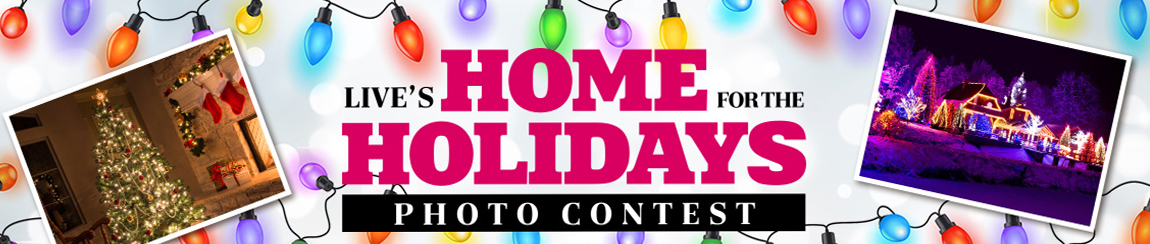 QUICK ENDING! LIVE's Home for the Holidays Photo Contest - Show how you decorate for your chance to win a trip for four to New York city and you will also get to attend a taping of LIVE with Kelly & Ryan