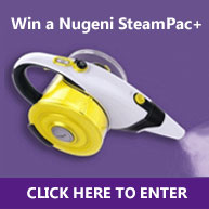 Enter for your chance to win a Nugeni Steampac+ valued at $160