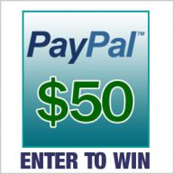 Enter for your chance to win $50 cash via PayPal.