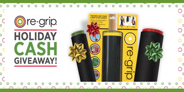Regrip Holiday $1,000 Giveaway
