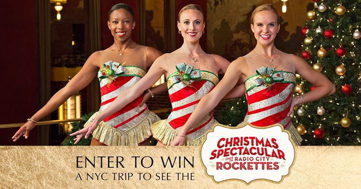 Hurry and enter for your chance to win a trip for two to the Rockettes Christmas Spectacular at Radio City Music Hall in New York City!