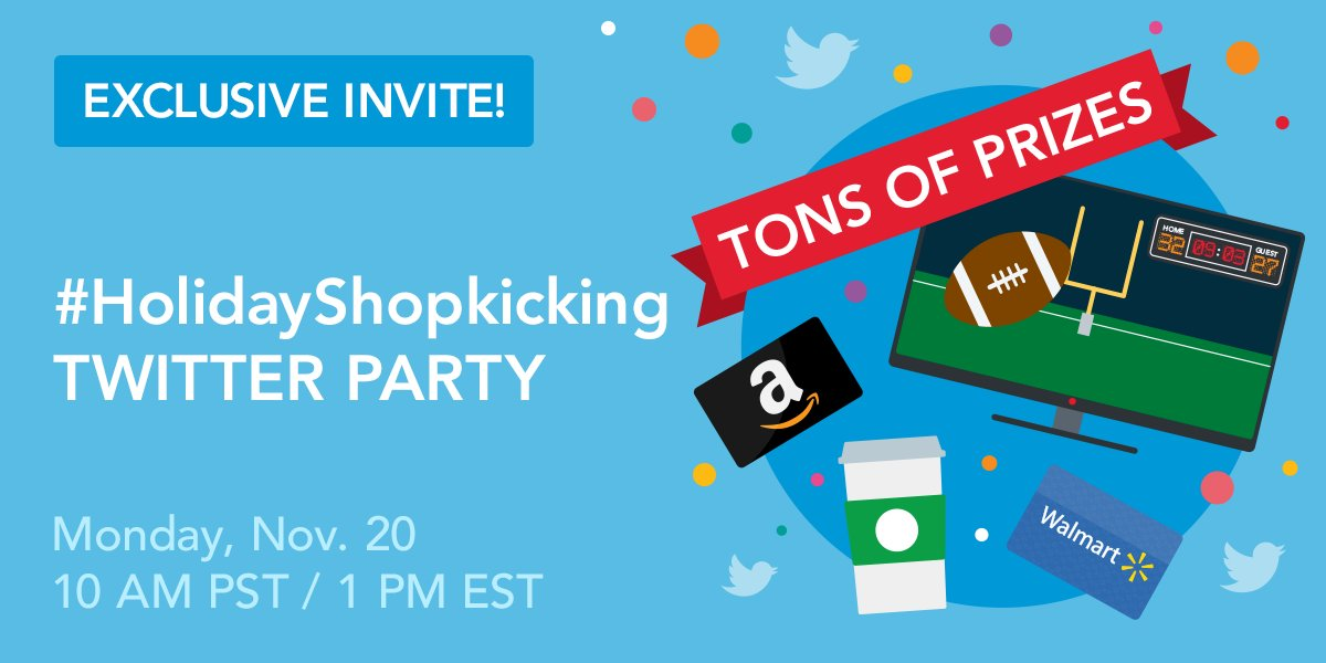 ShopKick is having a party - a Twitter party that is - and you have the chance to win Hallmark Keepsake ornaments, gift cards and Free ShopKicks points