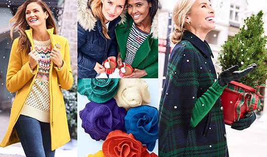 Enter for your chance to win 1 of 14 Talbots gift card and holiday gift box in the Talbots Share Your Moments Sweepstakes