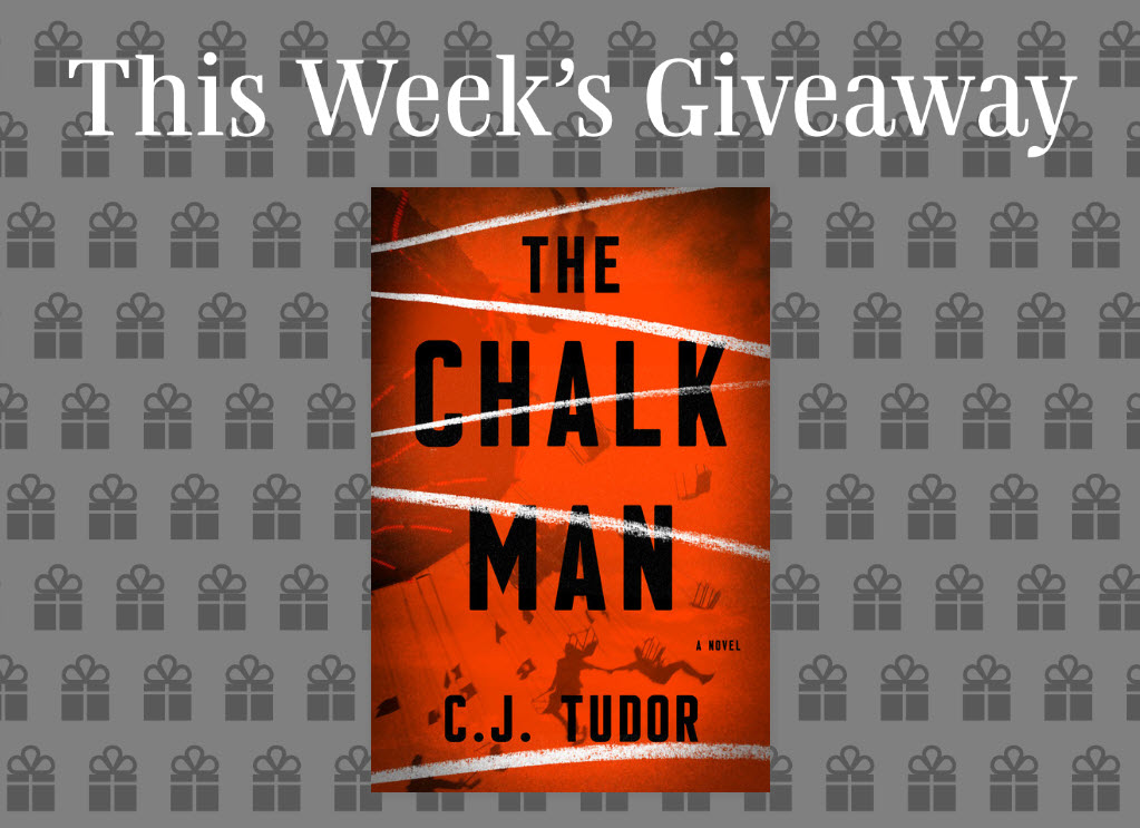 Enter to win 1 of 200 copies of The Chalk Man by C. J. Tudor. Every week Read It Forward hosts a new literary giveaway! Enter to win a favorite new reads, bookish goodies, and so much more.