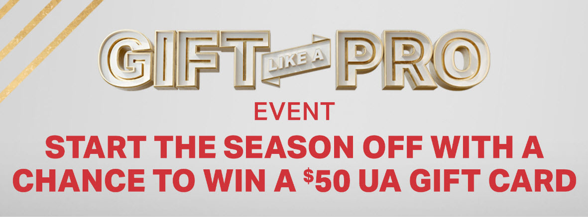 Under Armour Gift Like a Pro Instant Win Game