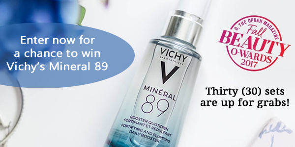 Vichy Mineral 89 Product Instagram Giveaway
