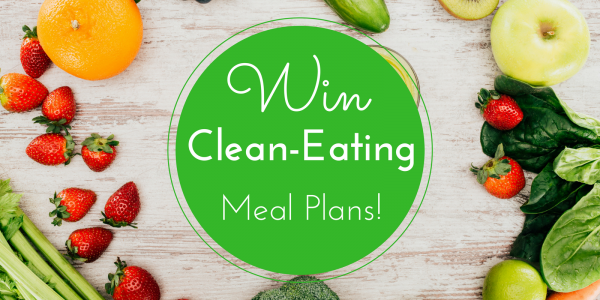 Enter for your chance to win 12 Months of Weekly Online Clean Eating Meal Plans from eMeals from Nourish, Play, Love