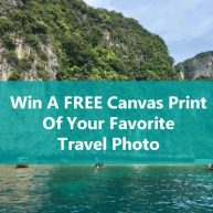 Seat Boost Win A Free Canvas Print Of Your Favorite Travel Photo