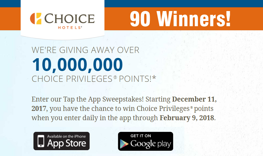 May 10, · Choice Privileges has launched targeted promotion for 3, bonus points per stay that is booked using the app between May 10 – June 8 and consumed by July 7, You can access Choice's web page for their apps here.
