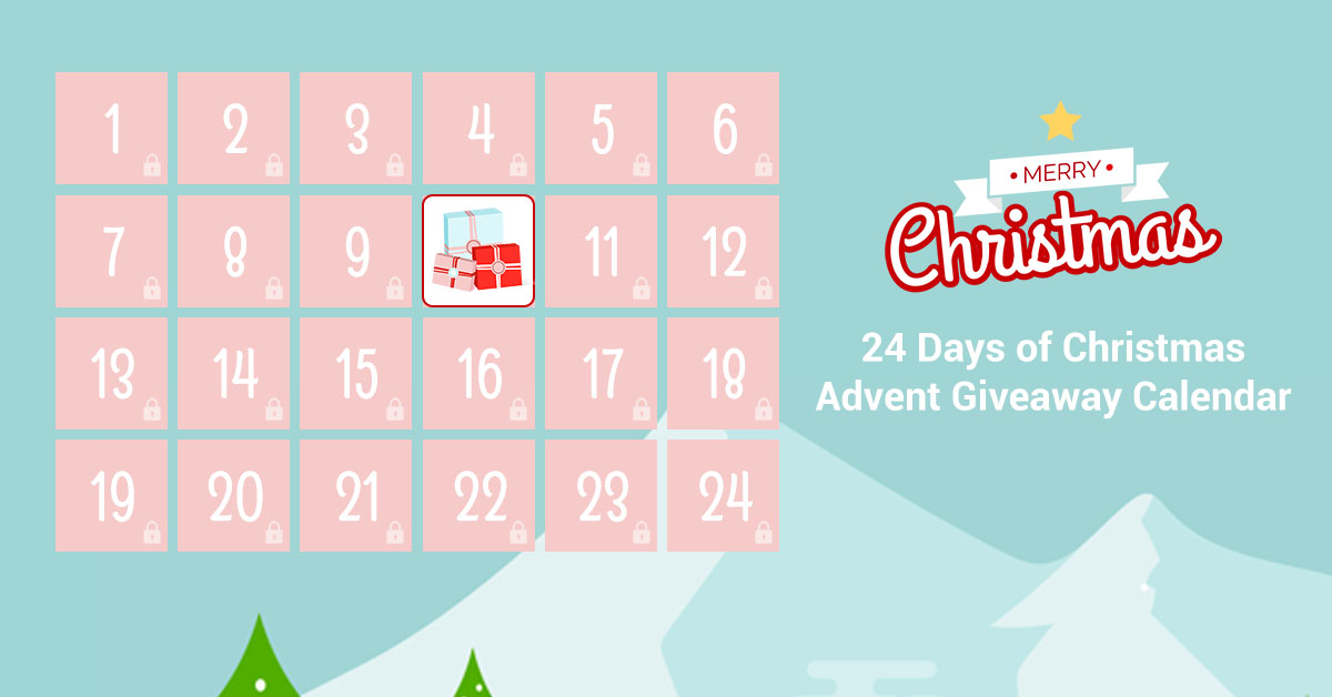 Enter the Melody Susie24 Days of Christmas Advent Giveaway Calendar! Each day a new prize will be revealed that you can enter to win. Be sure to visit each day for a new prize! The prizes include manicure kit, makeup mirror, and some other beauty stuff