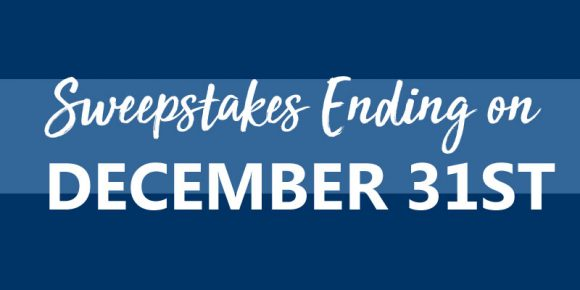 Sweepstakes Ending on December 31