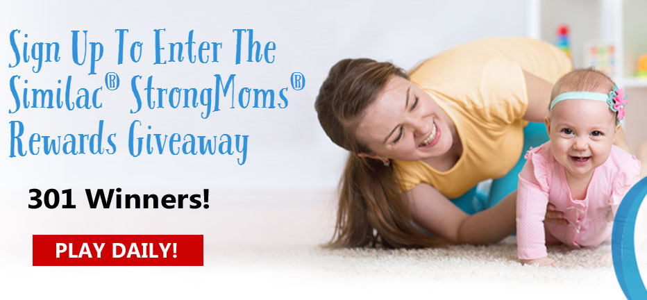 One lucky mom-to-be will win the essentials for baby's first milestones with a Grand Prize of over $5,000 plus 300 other winners could win gift card from Babies R Us, Target, Shutterfly,and more