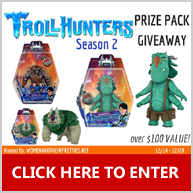 Enter for your chance to win 1 of 3 DreamWorks Trollhunters prizes