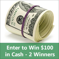 Enter to win $100 in cash