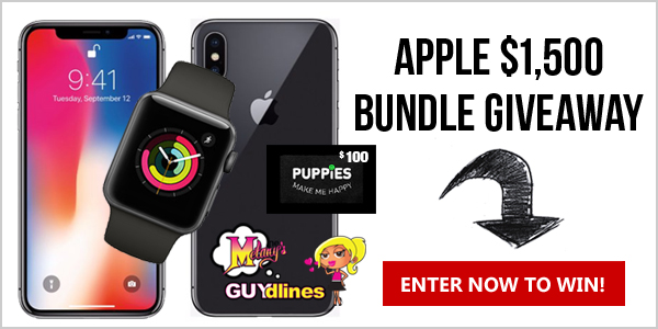 Win an Apple iPhone X and smartwatch