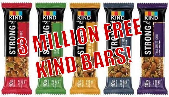 Free KIND Bar Coupon