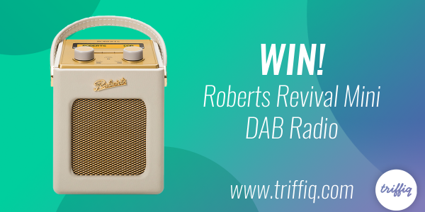 Enter for your chance to wina Roberts Revival Mini DAB Digital Radio valued at $200