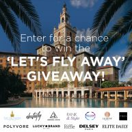Let's Fly Away Biltmore Hotel in Miami, Florida Sweepstakes