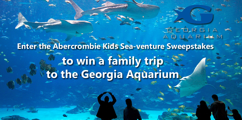 Enter the Abercrombie Kids Sea-venture Sweepstakes for your chance to win a trip to Atlanta, Georgia for you and up to 7 friends