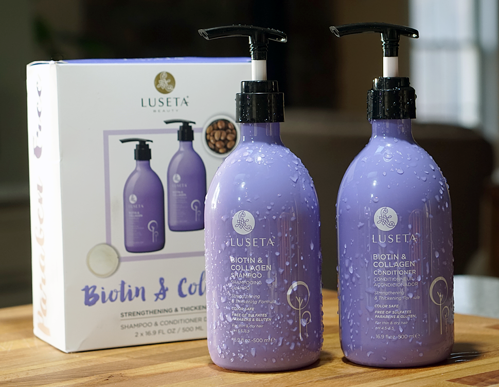 Luseta Biotin & Collagen Shampoo & Conditioner