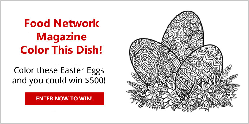 Food network color this dish contest