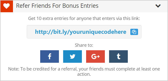 How To Use Referral Links to Get Bonus Sweepstakes Entries