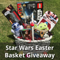 Enter for your chance to win Star Wars themed Easter Basket valued at $195.