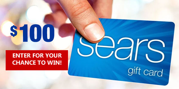 Click Here to win a $100 Sears gift card from the Todd and Erin Favorite Five.