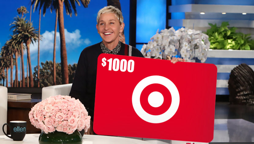 Target $1000 Gift Card Giveaway