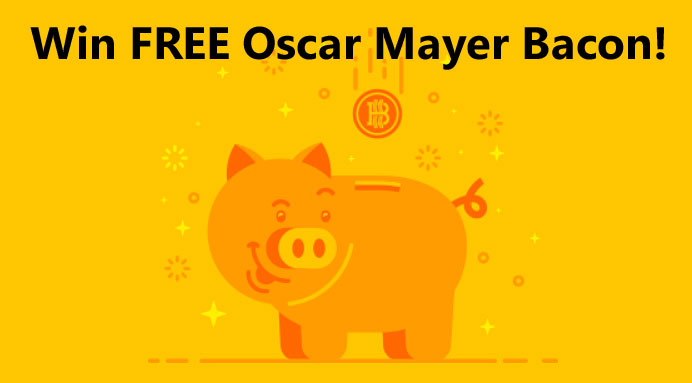 Free Oscar Mayer Bacon - 2,000 winners in all - when you play the Oscar Mayer Bacoin Instant Win Game