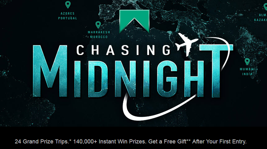 Play the Marlboro Chasing Midnight Instant Win Game to Win!